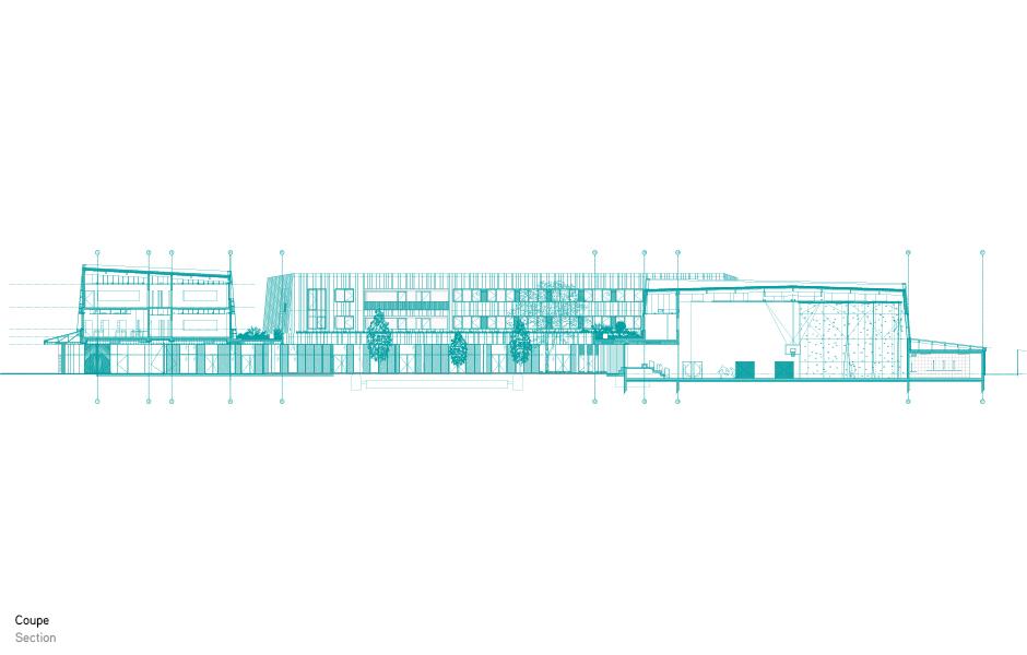 lcm college handisport complex and cultural center. Black Bedroom Furniture Sets. Home Design Ideas