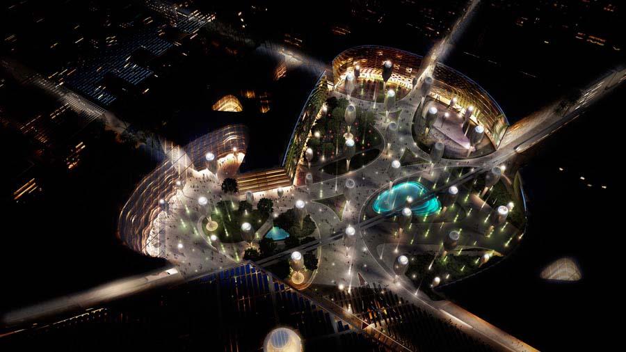 Masdar Plaza © LAVA