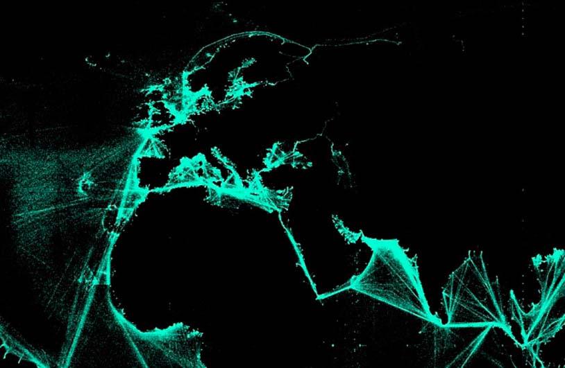 Port to Port©Spatial Information Design Lab