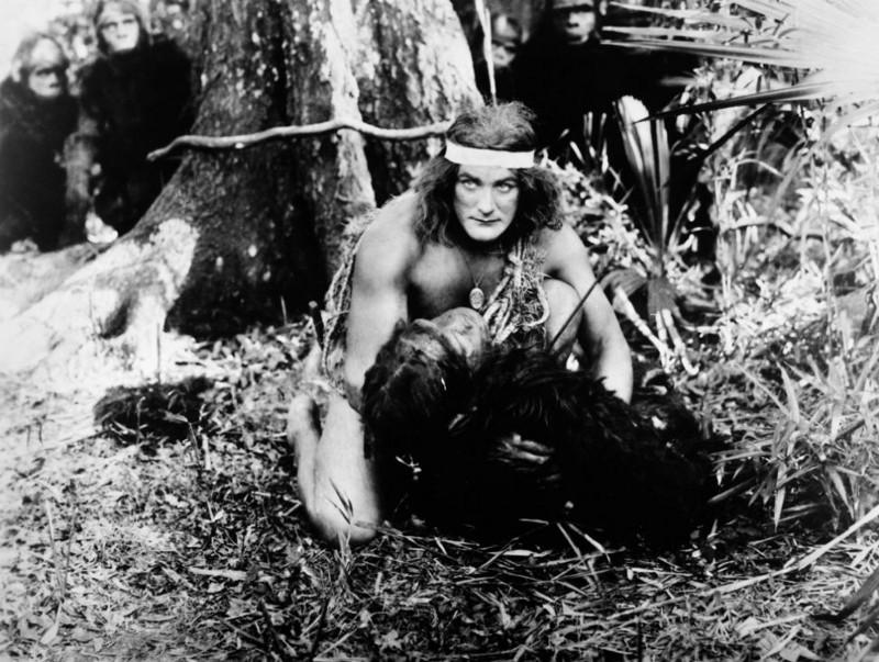 "Elmo Lincoln in ""Tarzan of the Apes"" (1918)"