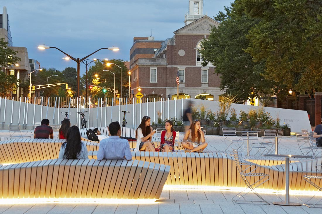 The plaza at harvard urbannext for Architecture harvard