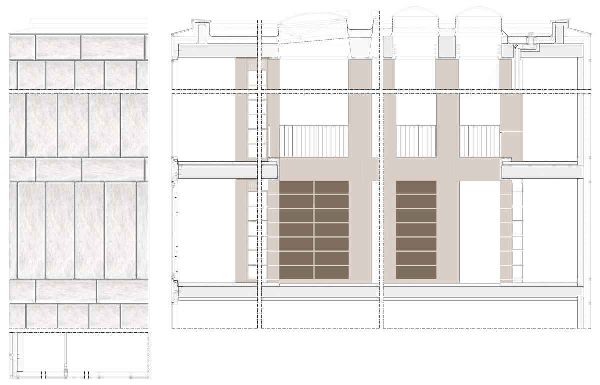 Folkwang-Bibliothek-Fassadenschnitt_no-text