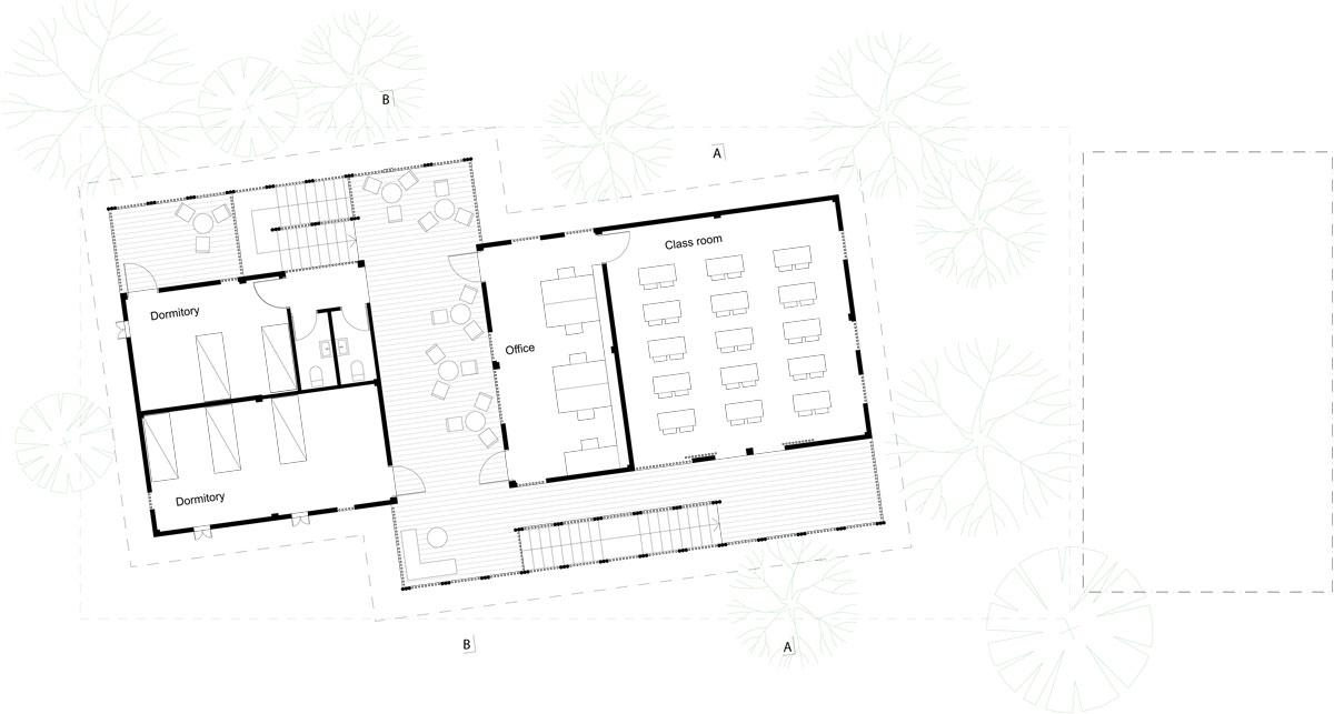 KKYC_Upper-floor-plan-by-Komituarchitects