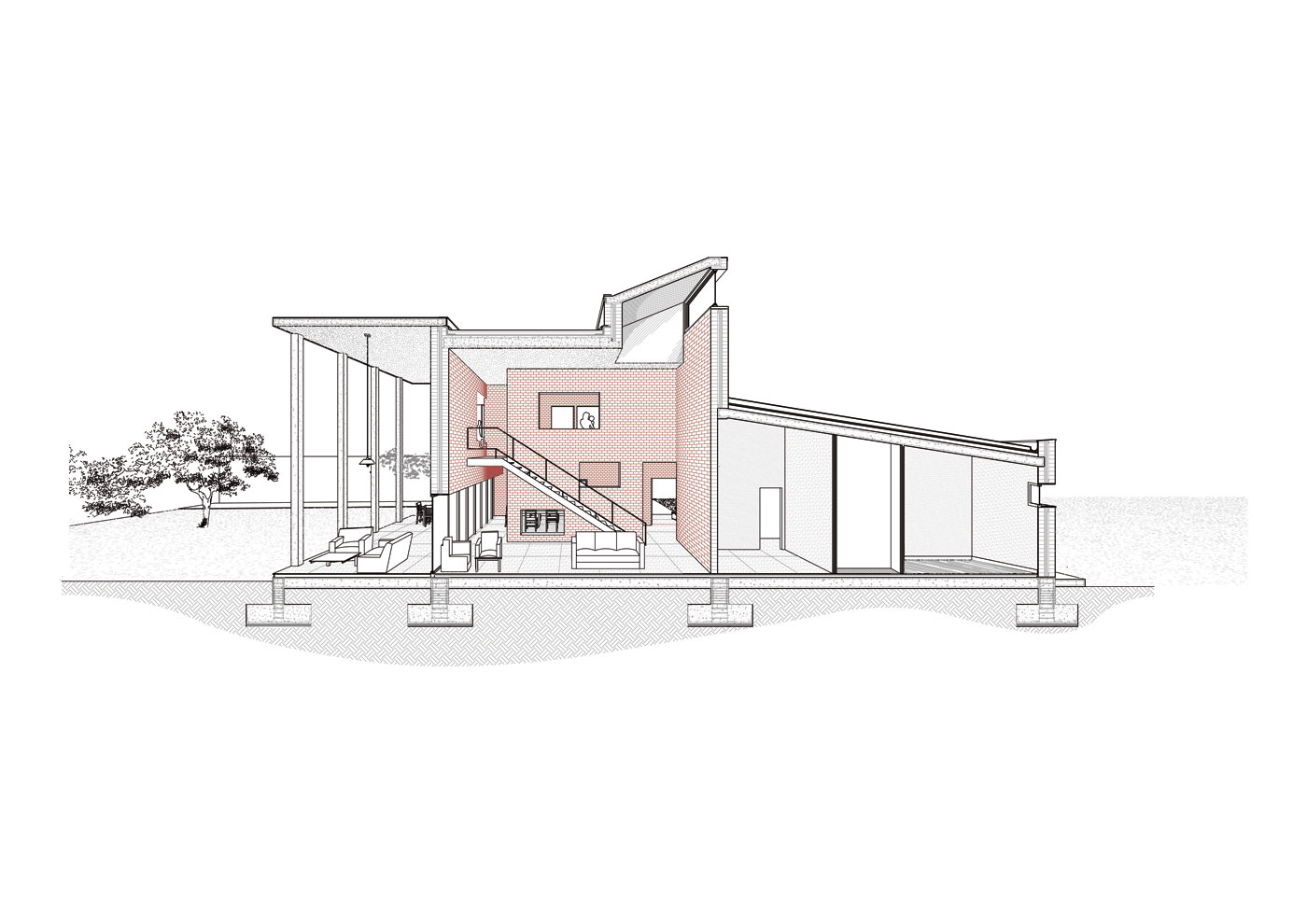 Perea-Borobio-House_Sectional-Perspective_V2