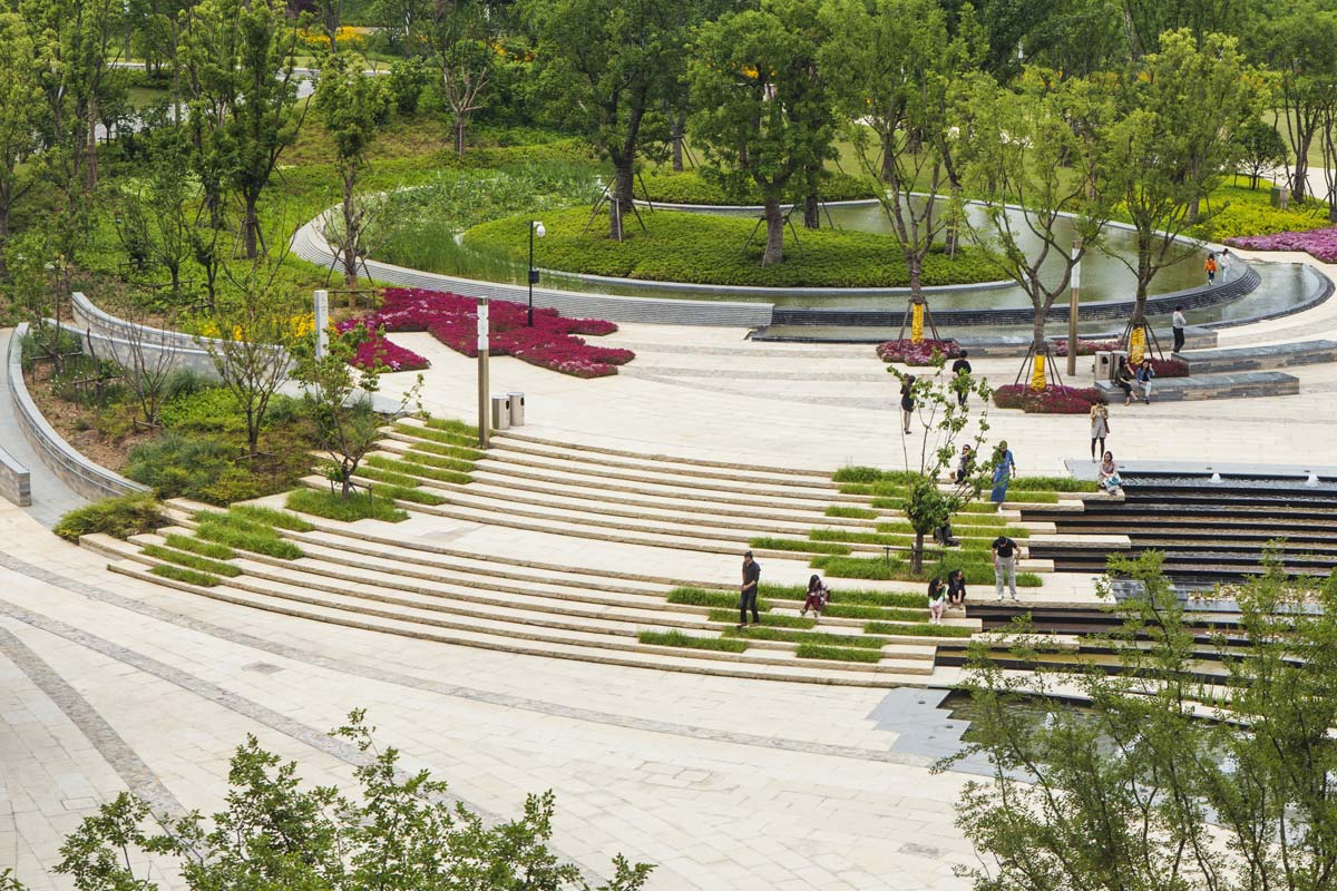 Nanjing tangshan geopark museum urbannext for Landscape architecture