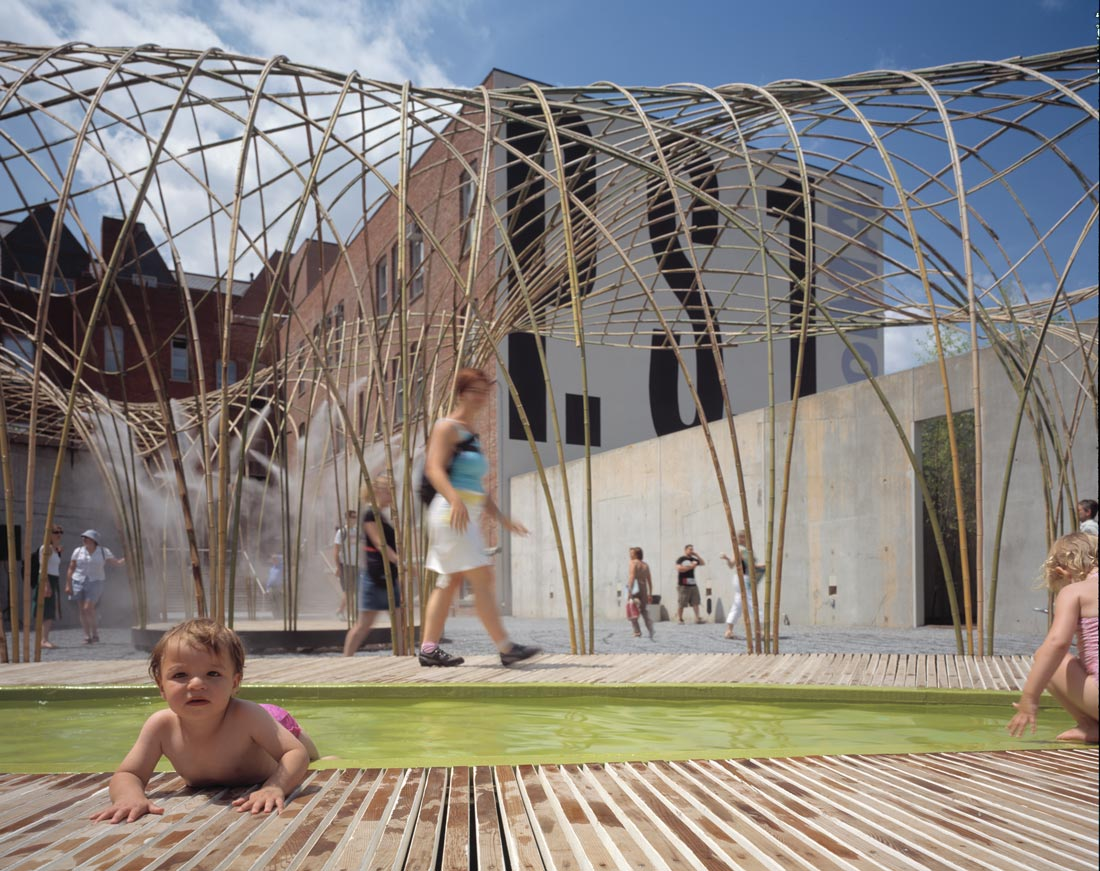 Since Canopy ... & Bamboo Canopy: a Digitally-Made Leisure Shelter | urbanNext