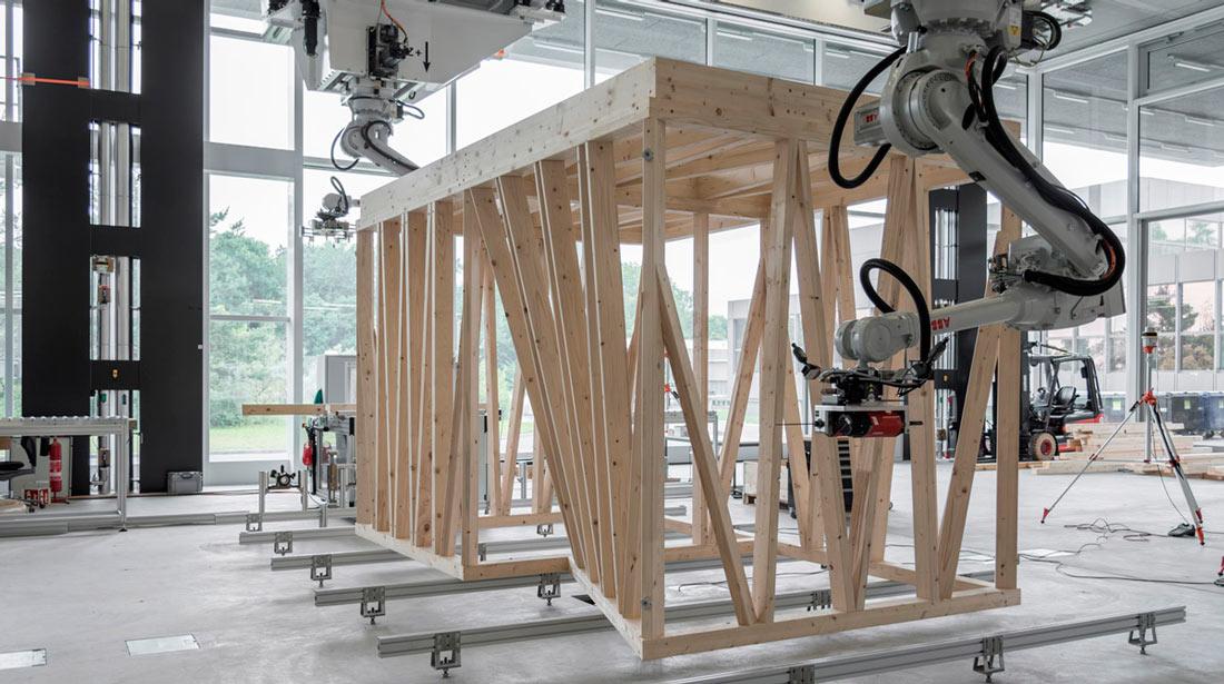 Spatial Timber Assemblies Architecture Robotics And Craftsmanship