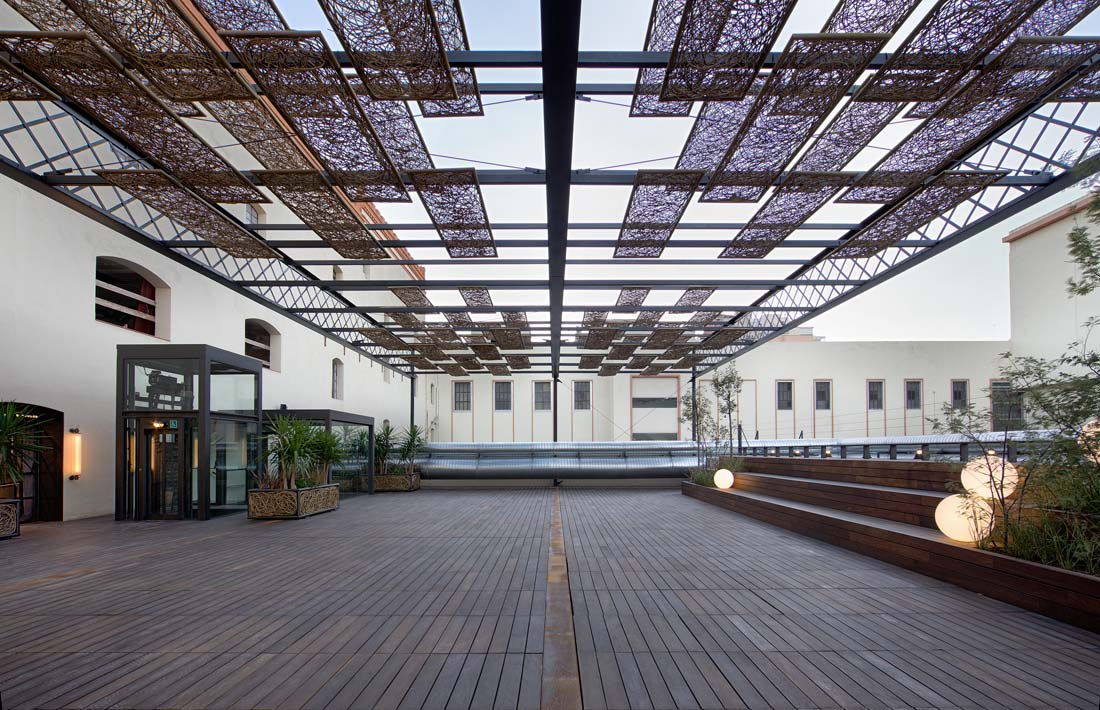 Old Estrella Damm Factory Renovation A Multipurpose Re
