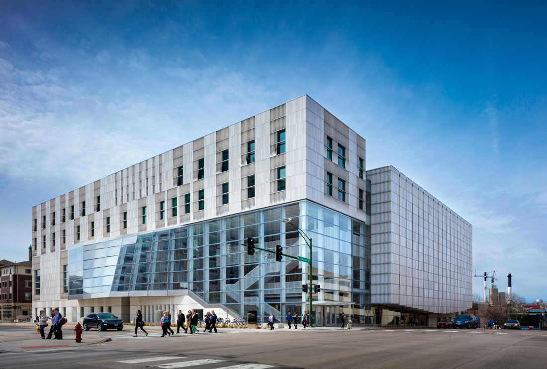 Voxman Music Building: Vertical Urban Vitality | urbanNext