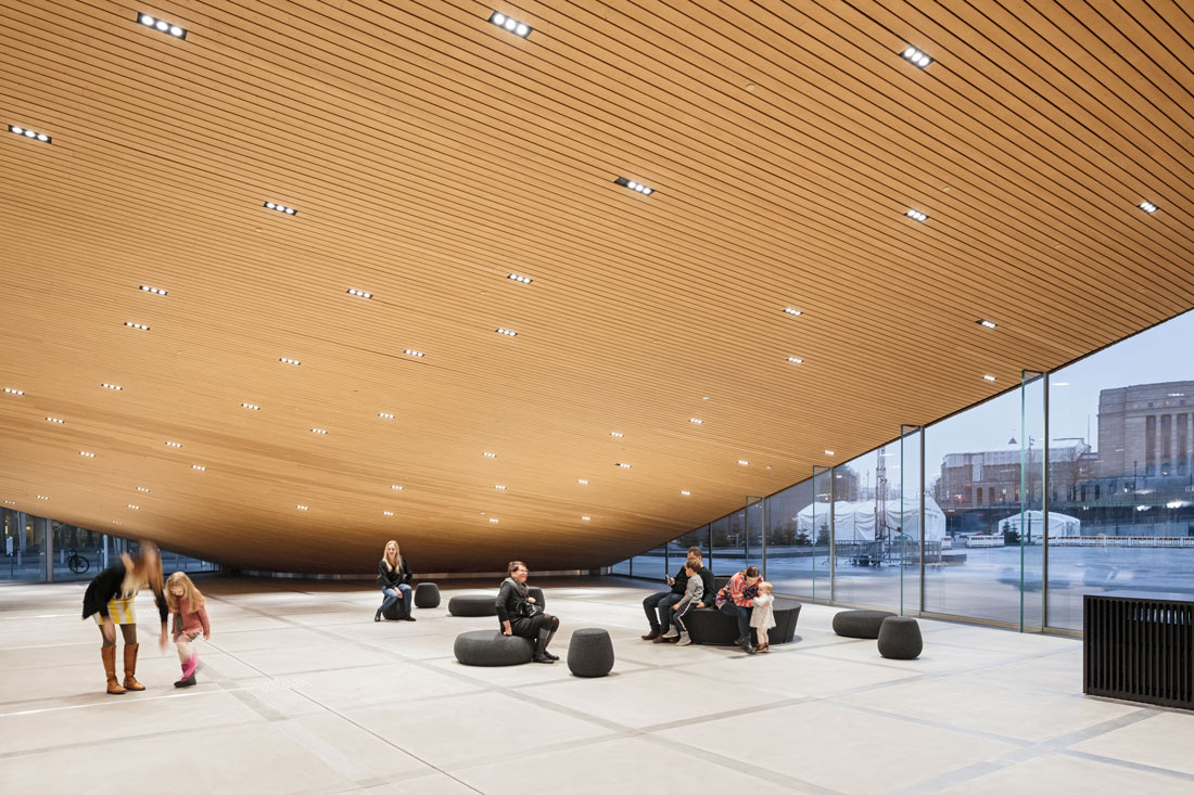 Oodi Helsinki Central Library Public Space In A
